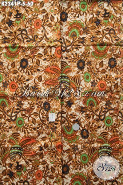Jual Online Kain Batik Elegan Proses Printing Bahan Pakaian Formal Cocok Buat Seragam Kerja Dan Acara Resmi