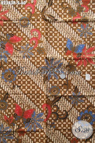 Kain Batik Klasik Motif Mewah Dan Elegan Bahan Busana Formal Kwalitas Istimewa Harga Terjangkau, Proses Printing