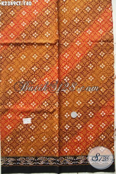 Batik Kain Halus Motif Unik Proses Cap Tulis, Batik Bahan Baju Kerja Kwalitas Istimewa Harga Terjangkau, Modis Juga Untuk Busana Kondangan