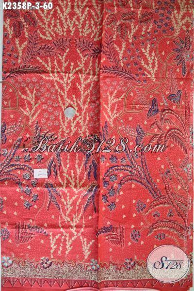 Kain Batik Modis Halus Motif Unik, Batik Solo Modern Bahan Pakaian Kwalitas Bagus Untuk Penampilan Pria Semakin Stylish