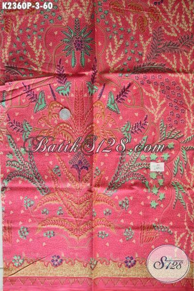 Batik Kain Murmer Kwalitas Bagus Bahan Aneka Busana Pria Penunjang Penampilan Lebih Modis Dan Gaya, Batik Solo Printing Istimewa di Jual Online Harga Grosir