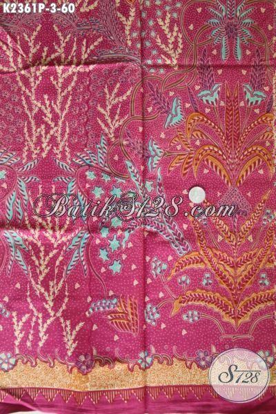 Jual Online Produk Kain Batik Modern Buatan Solo, Batik Halus Nan Istimewa Bahan Baju Santai Cocok Buat Jalan-Jalan Proses Printing