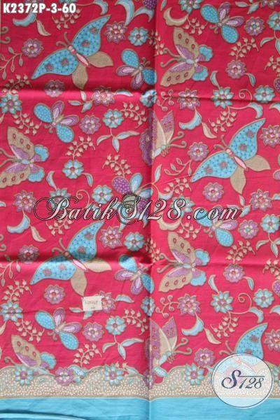 Jual Kain Batik Online, Batik Halus Motif Trendy Proses Printing Harga Terjangkau, Cocok Untuk Baju Santai