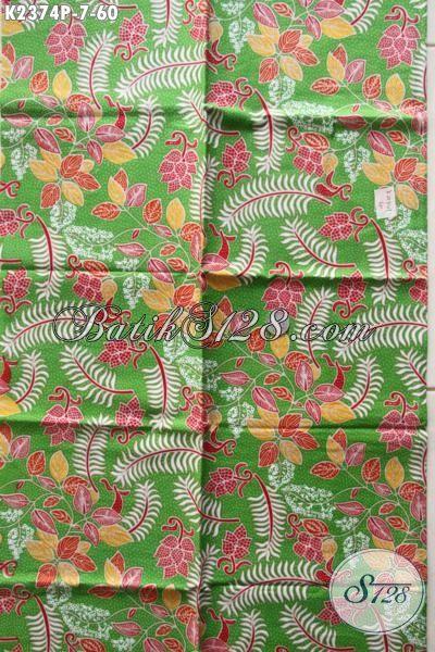 Kain Batik Solo Terkini Hadir Dengan Motif Modern Proses Printing Harga 60 Ribuan Bisa Untuk Baju Pesta Dan Santai