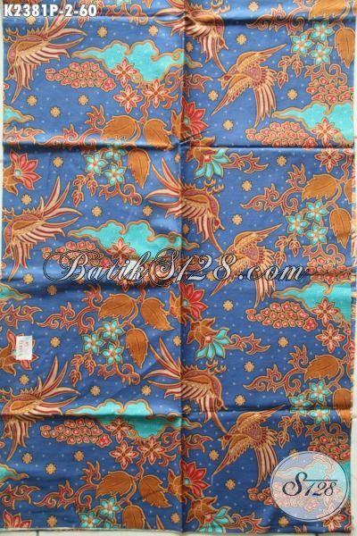 Sedia Kain Batik Istimewa Khas Jawa Tengah, Batik Halus Motif Trendy Proses Printing Di Jual Online Harga Grosir