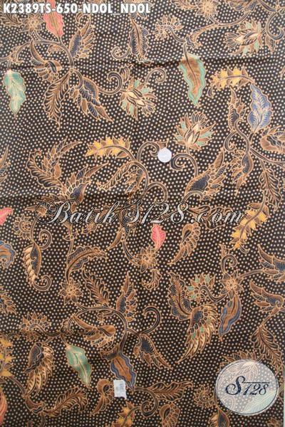 Pusat Belanja Batik Online Khas Jawa Tengah, Kain Batik Halus Mewah Motif Ndol-Ndol Bahan Pakaian Kwalitas Tinggi Untuk Tampil Sempurna