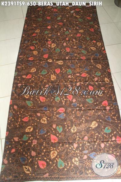 Sedia Kain Batik Mewah Dan Halus, Batik Mahal Nan Istimewa Buatan Solo Bahan Baju Santai Dan Formal Pria Wanita Masa Kini Harga 650K