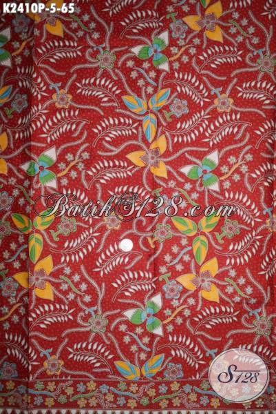 Jual Batik Kain Printing Khas Jawa Tengah, Hadir Dengan Tren Motif 2016 Lebih Keren Cocok Untuk Bahan Pakaian Wanita Masa Kini