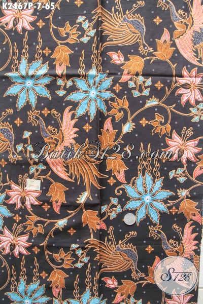 Jual Online Kain Batik Modern Nan Berkelas, Batik Halus Proses Printing Kwalitas Istimewa Hanya 65K [K2467P-200x110cm]