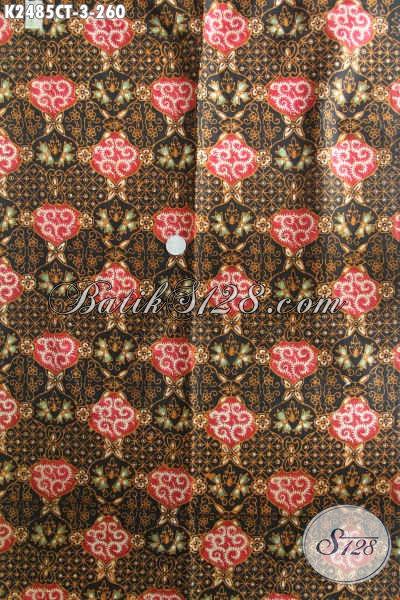 Jual Produk Kain Batik Proses Cap Tulis, Kain Batik Halus Bahan Baju Kerja Dan Kondangan Kwalitas Istimewa Harga Grosir [K2485CT-240x110cm]