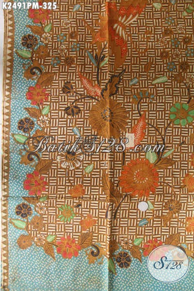 Jual Online Kain Batik Premium, Batik Halus Proses Kombinasi Tulis Bahan Busana Wanita Dan Pria Harga 325K