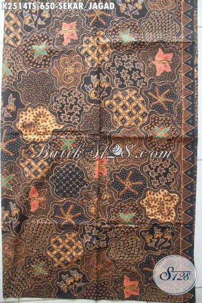 Kain Batik Solo Sekar Jagad Klasik Batik Halus Proses Tulis Soga