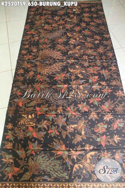Batik Kain Halus Mewah Motif Burung Kupu Proses Tulis Soga, Bisa Untuk Kemeja Pria Lengan Panjang Dan Pendek Harga 650K