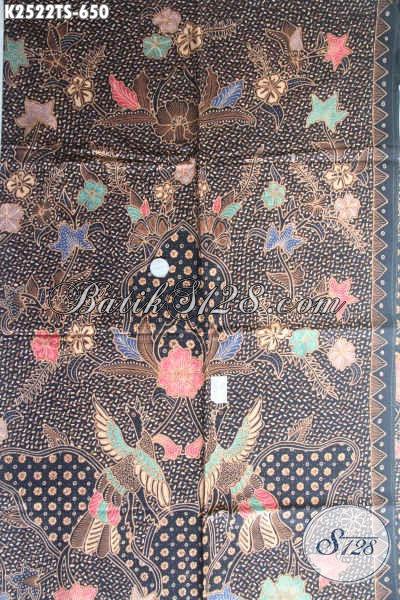 Produk Kain Batik Batik Motif Mewah Kwalitas Bagus Bahan Adem Proses Tulis Soga Harga 650 Ribu, Cocok Untuk Baju Rapat Dan Seragam Kerja Para Executive [K2522TS-240x110cm]