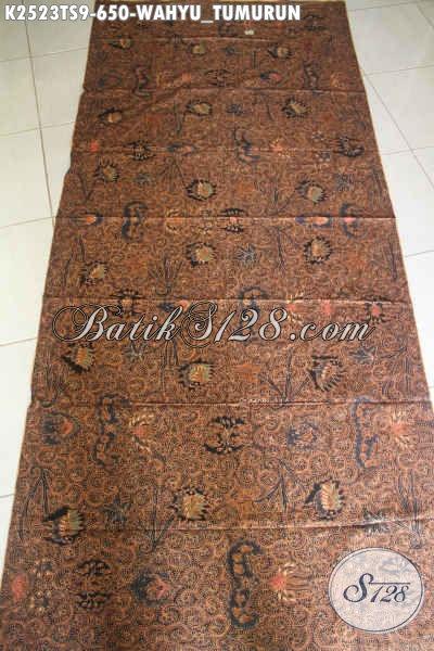Kain Batik Klasik Mewah Buatan Solo, Batik Halus Motif Wahyu Tumurun Harga 600 Ribuan Cocok Untuk Busana Kerja Dan Kondangan Executive