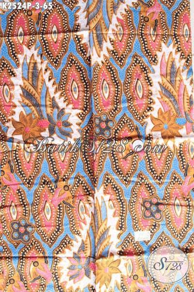 Batik Modern Nan Keren, Kain Batik Trendy Proses Printing Bahan Baju Santai Modis