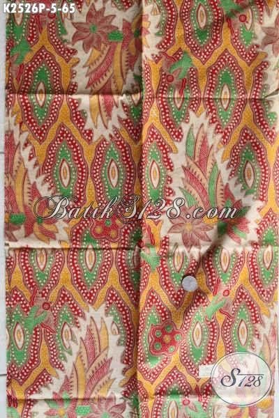 Batik Printing Halus Motif Bagus, Batik Istimewa Khas Jawa Tengah Harga 65K Bisa Untuk Pakaian Gaul