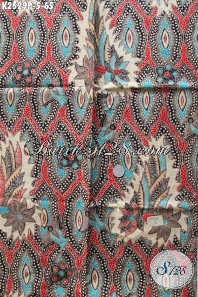 Produk Kain Batik Solo Terbaru, Batik Printing Halus Khas Jawa Tengah Bahan Baju Pria Lengan Pendek Tampil Modis Dan Gaul