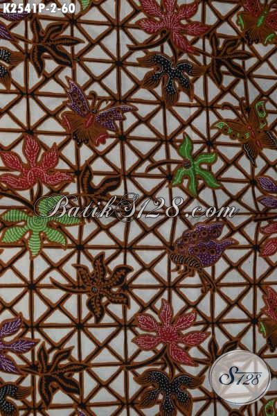 Batik Halus Bahan Pakaian Kerja Dan Santai, Kain Batik Printing Halus Modis Harga 60K