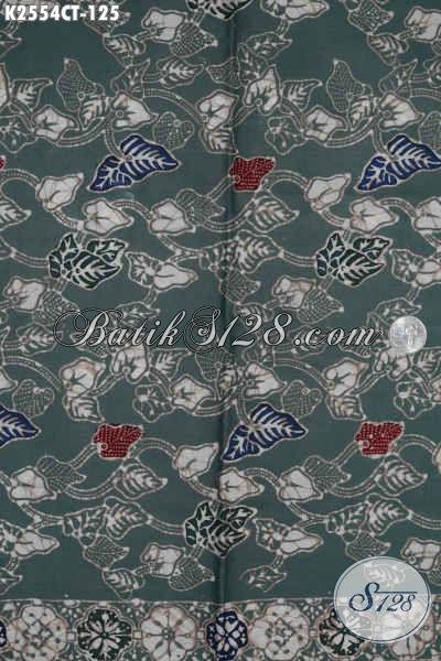 Batik Kain Dasar Hijau, Batik Halus Cap Tulis Nan Modis, Batik Berkelas Buatan Solo Harga 125K