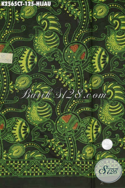 Kain Batik Solo Dengan Kwalitas Bagus Harga Murah, Batik Istimewa Proses Cap Tulis Untuk Baju Kerja  Harga 125 Ribu [K2565CT-200x110cm]