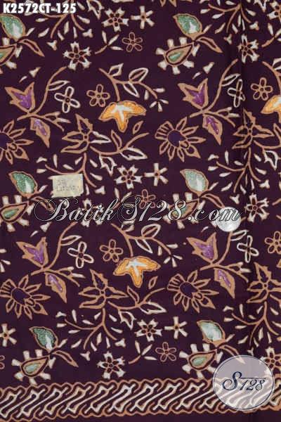 Batik Jawa Tengah Terkini, Kain Batik Halus Motif Unik Proses Cap Tulis Istimewa Untuk Busana Formal Dan Santai [K2572CT-200x110cm]