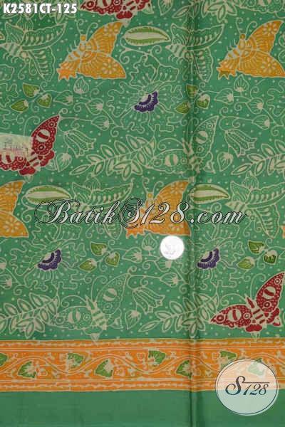 Toko Batik Online Terlengkap, Jual Kain Batik Halus Proses Cap Tulis Motif Trendy Harga Tejangkau [K2581CT-200x110cm]