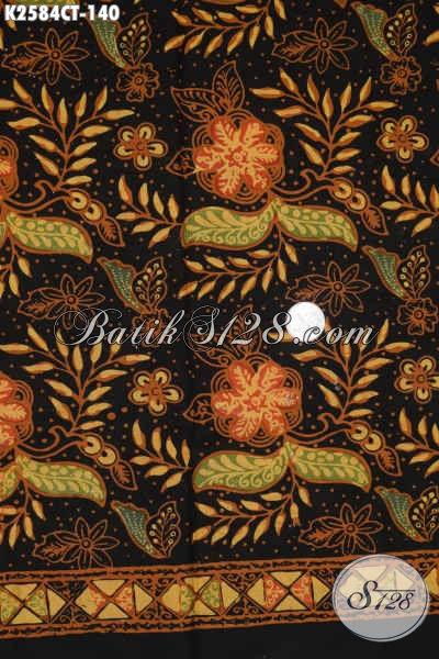 Kain Batik Cap Tulis Motif Mewah Kwalitas Premium Bahan Pakaian Kerja Dan Santai Pria Masa Kini [K2584CT-200x110cm]