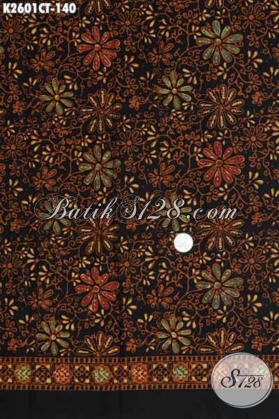 Batik Solo Halus Motif Terkini, Kain Batik Bahan Baju Cewek Proses Cap Tulis Harga 140K [K2601CT-200x110cm]