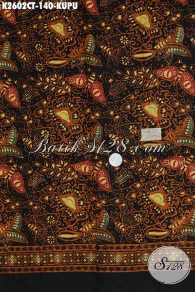 Jual Batik Kain Solo Motif Kupu, Batik Halus Bajhan Pakaian Cewek Dengan Kwalitas Istimewa, Di Jual Online Harga Grosir [K2602CT-200x110cm]