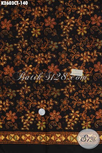 Batik Solo Motif Terkini, Batik Kain Bahan Busana Pria Dan Wanita Proses Cap Tulis Untuk Penampilan Lebih Istimewa [K2603CT-200x110cm]