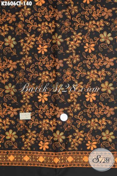 Koleksi Terbaru Kain Batik Bahan Baju Wanita, Batik Halus Motif Mewah Proses Cap Tulis Harga 140 Ribu