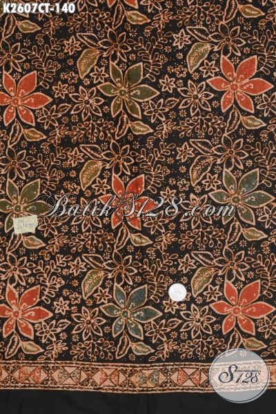 Toko Online Batik Jual Kain Bahan Busana Motif Terkini Proses Cap Tulis Hanya 100 Ribuan [K2607CT-200x110cm]