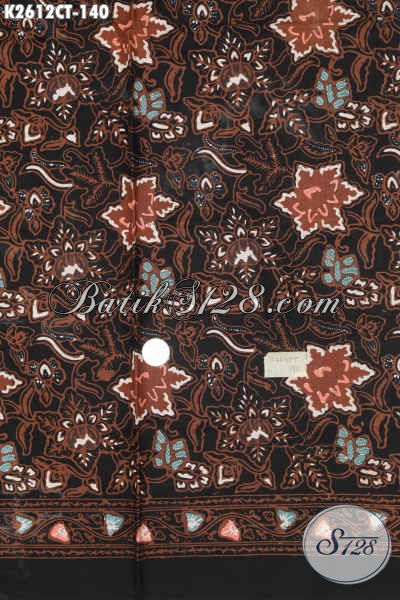 Agen Online Aneka Produk Batik Solo, Jual Kain Batik Halus Proses Cap Tulis Motif Mewah, Bisa Buat Busana Resmi Dan Santai [K2612CT-200x110cm]