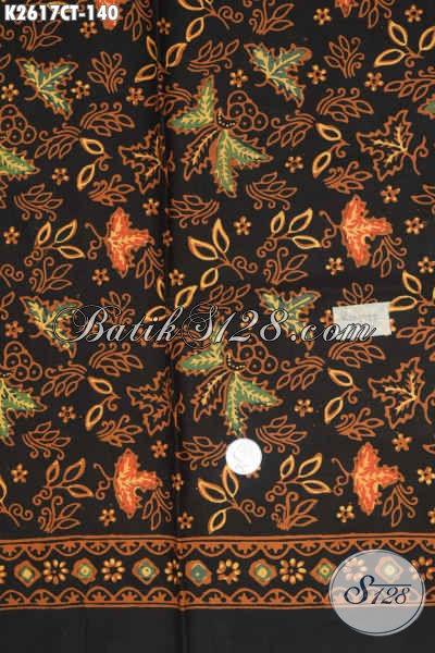 Batik Halus Motif Bagus Asli Solo, Kain Batik Bahan Baju Wanita Trend Motif Terkini Harga 140 Ribu Proses Cap Tulis [K2617CT-200x110cm]