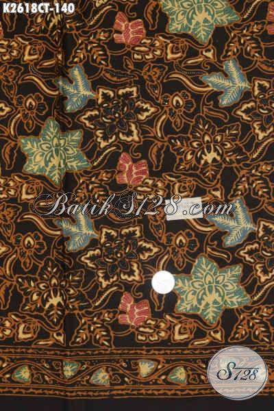 Toko Batik Online Paling Lengkap, Sedia Batik Kain Halus Proses Cap Tulis Motif Trendy Dengan Warna Klasik Nan Istimewa Hanya 100 Ribuan [K2618CT-200x110cm]