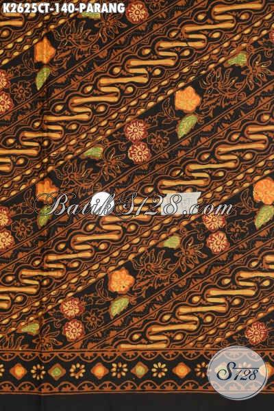 Batik Bagus Motif Parang, Kain Batik Modern Nan Mewah Proses Cap Tulis Harga Terjangkau, Cocok Untuk Kemeja Lengan Pendek [K2625CT-200x110cm]