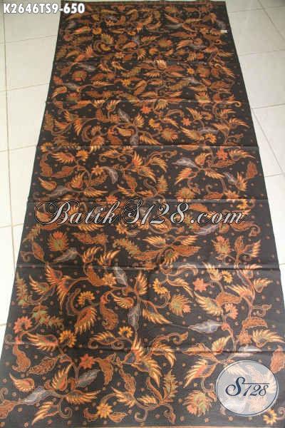 Batik Halus Mewah Mewah Dan Mahal, Hadir Dengan Motif Elegan Berkelas Proses Tulis Soga Untuk Baju Kerja Dan Kondangan Harga 600 Ribuan [K2646TS-240X105cm]