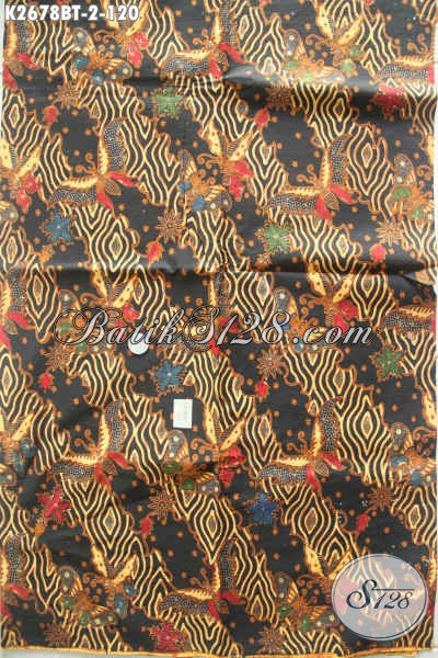 Batik Solo Modern Klasik Kwalitas Halus Bahan Pakaian Pria Dan Wanita Proses Kombinasi Tulis Harga 120K [K2678BT-240x105cm]