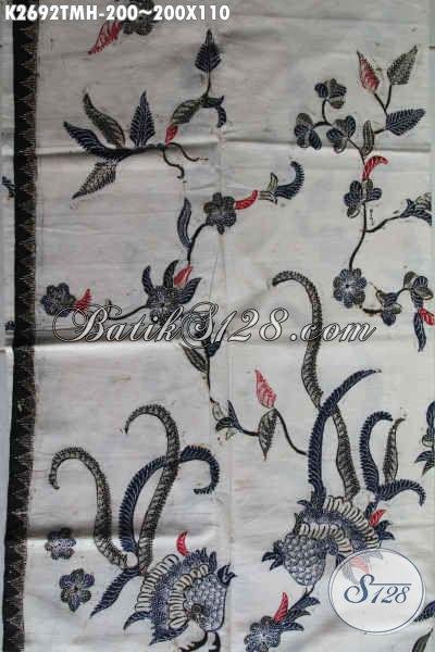 Jual Batik Kain Halus Proses Tulis Harga 200 Ribu Bahan Aneka Busana Santai Dan Formal Yang Istimewa [K2692TMH-200x110cm]
