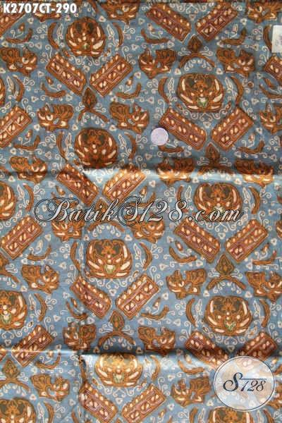 Kain Batik Klasik Proses Cap Tulis, Batik Halus Kwalitas Premium Bahan Busana Kerja Dan Formal [K2707CT-240x110cm]