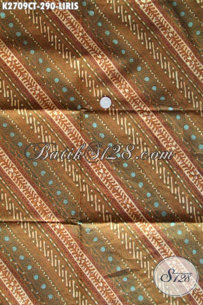 Batik Halus Motif Klasik Liris Proses Cap Tulis, Bisa Untuk Baju Kerja Lengan Pendek Dan Panjang Harga 290K [K2709CT-240x110cm]
