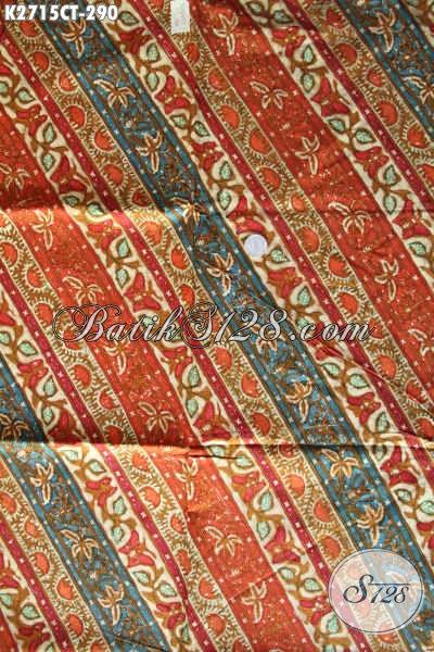 Batik Klasik Halus Kwalitas Istimewa, Batik Klasik Khas Jawa Tengah Proses Cap Tulis, Di Jual Online 290K [K2715CT-240x110cm]