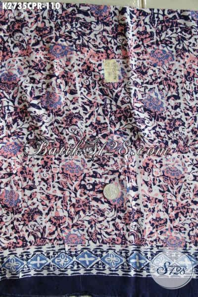 Batik Solo Terkini, Batik Untuk Busana Wanita Bahan Parir Motif Keren Proses Cap Hanya 110K [K2735CPR-180x110cm]