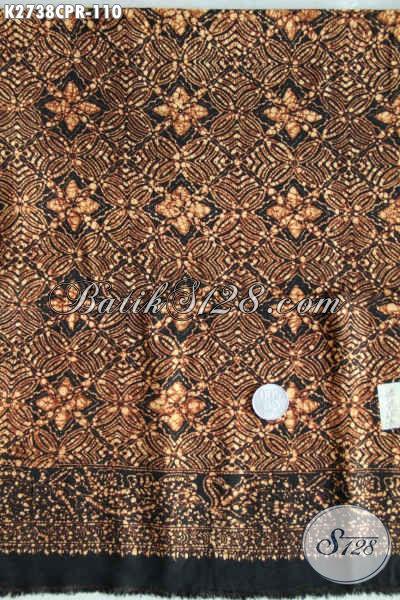 Kain Batik Bagus Murah, Batik Jawa Bahan Paris Motif Elegan Berkelas, Cocok Untuk Busana Wanita [K2738CPR-180x110cm]