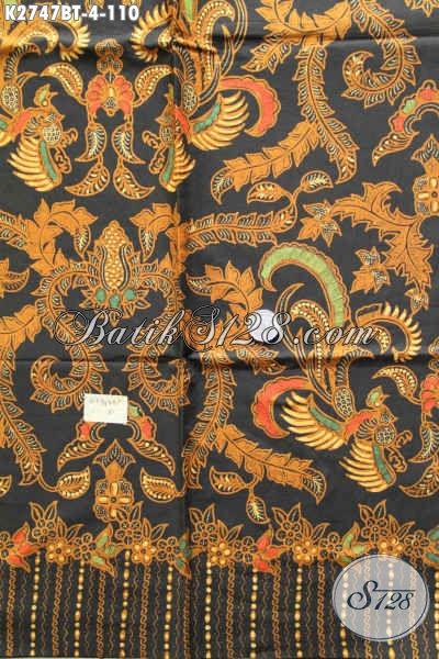 Batik Jokowi Halus Proses Kombinasi Tulis Cocok Untuk Busana Santai Dan Resmi