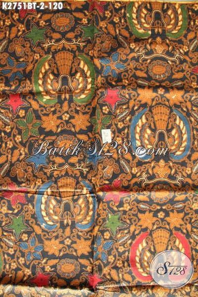 Batik Klasik Kombinasi Tulis, Batik Halus Berkelas Buatan Solo Bahan Baju Kerja Dan Rapat