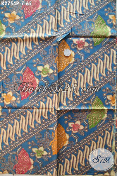 Jual Online Baitk Bahan Kemeja, Kain Batik Untuk Blus, Batik Printing Modis Harga 65K