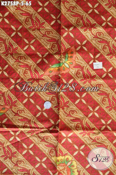 Aneka Kain Batik Modis Halus Proses Printing, Batik Keren Modern Klasik Proses Printing Harga 65K