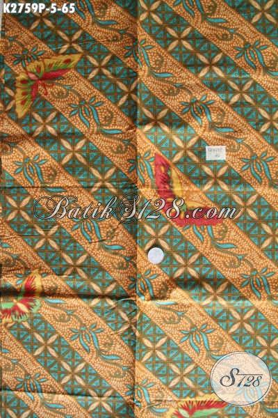 Produk Kain Batik Buatan Solo Hadir Dengan Motif Terkini Lebih Mewah Dengan Harga Yang Sangat Terjangkau [K2759P-200x110cm]